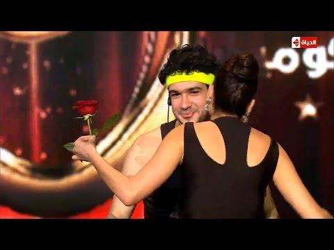 """The Comedy - """"محمود تركي"""" يحصل على ما هو أكبر من التقييم """"قبلة من """"سيرين عبد النور"""