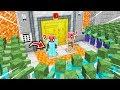 FAKİR'in EN GÜVENLİ BANKASI VS ZOMBİ KIYAMETİ! 😱 - Minecraft