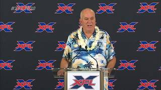 June Jones named head coach and general manager of XFL team in Houston