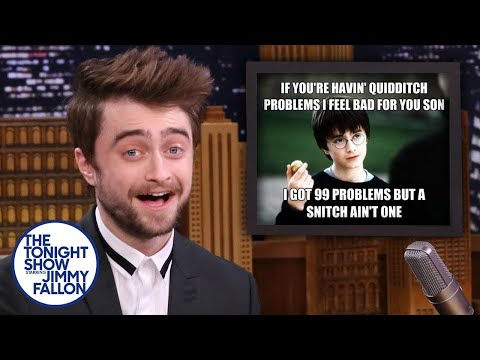 Daniel Radcliffe Reacts to Harry Potter Memes