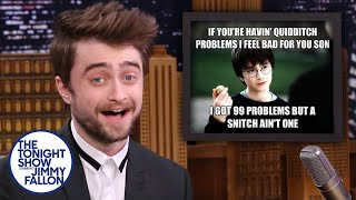 What Does Daniel Radcliffe Think Of Harry Potter Memes?