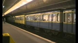 Paris Métro RER 1979 & 1992.