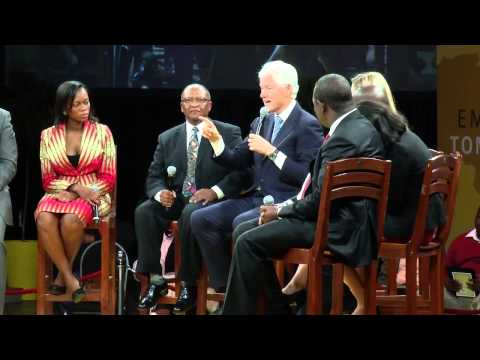 Embrace Tomorrow: A Conversation with President Bill Clinton and Chelsea Clinton