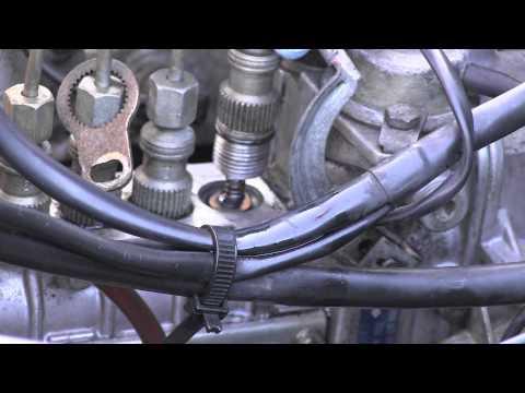 Mercedes Diesel Injection Pump Delivery Valves Leak Repair