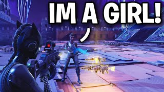 Wow a GIRL just scammed ME!! 😞☹️ (Scammer Get Scammed) Fortnite Save The World