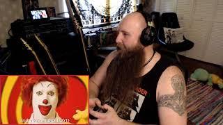 "(DOOMBRINGER REACTS) ""Ronald McDonald vs The Burger King"" by Epic Rap Battles of History"