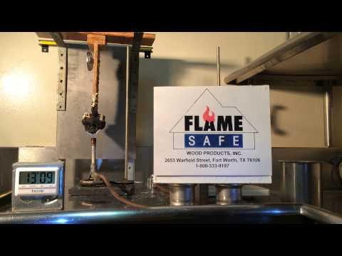 Fire Retardant Wood I-joists 1-800-333-9197 Part 1 Flame Safe