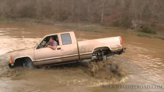 CRAZY DRIVER TAKES ON SHILOH RIDGE DEEPEST POND!!!