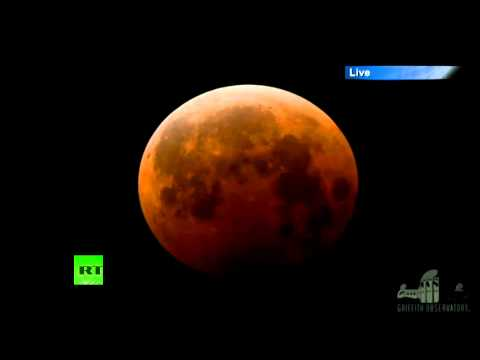 Blood Moon: Rare total lunar eclipse (TIMELAPSE VIDEO)