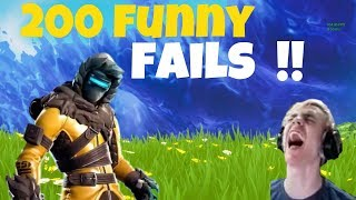 TOP *200* FUNNIEST FAILS IN FORTNITE FUNNY AND BEST MOMENTS!