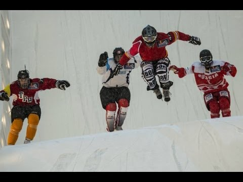Downhill Ice Cross Pre Season – Red Bull Crashed Ice