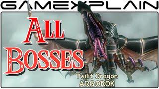 All Boss Fights in Zelda: Twilight Princess HD (Boss Battles - 1080p Wii U)