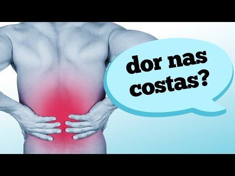 aliviar dor nas costas lombar