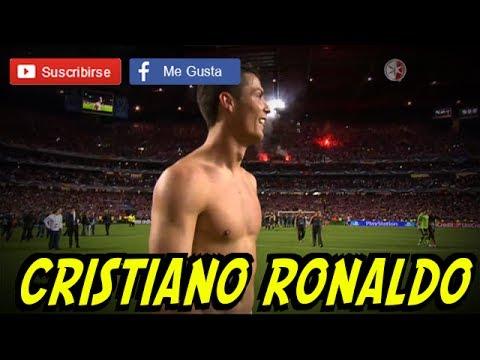Cristiano Ronaldo FESTEJO Llorando 24/05/2014 Campeon Real Madrid UEFA Champions League
