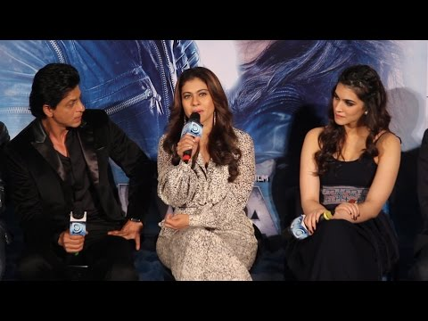 Kajol Full Speech -  Gerua Song Launch | Dilwale