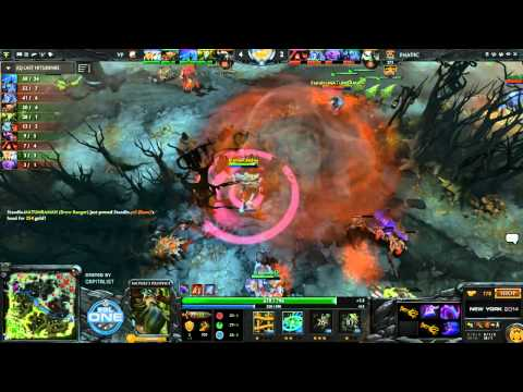 VP vs Fnatic Game 1 - ESL One New York EU Qualifier - @DotaCapitalist & @NahazDota