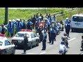 2 Bikers Vs. 42 Japanese Police!!!
