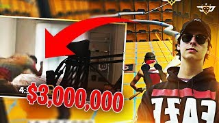 COURAGE VS CIZZORZ $3,000,000 DEATHRUN?! NEW WORLD RECORD! (Fortnite: Battle Royale)