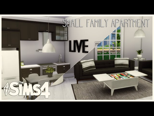 (DOWNLOAD) The Sims 4: House Build | Small Family Apartment