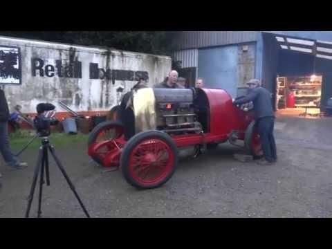 Fiat S76. 1911. 28.4 litres. 4 cylinders. Start-up 28th Nov 2014.