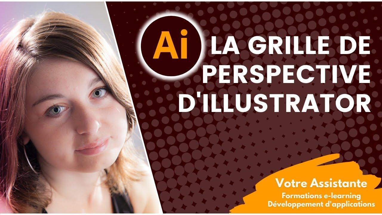 pourquoi et comment utiliser la grille de perspective illustrator
