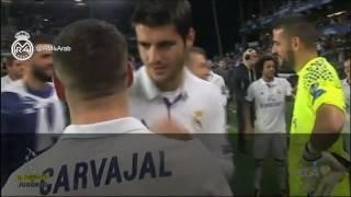 كواليس: شاهد ما قاله راموس في نقاش مع اللاعبين حول الهدف الملغى