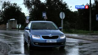 Тeст-дрaйв Skoda Octavia 2013 // AвтoВeсти 94