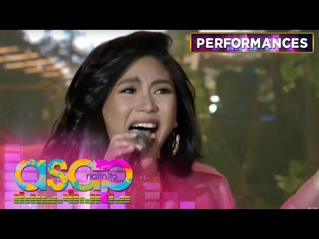 "Popstar Royalty Sarah G performs her own rendition of ""Kisapmata"" | ASAP Natin 'To"