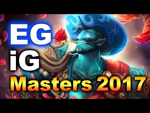 EG vs iG - SemiFinals! - MASTERS MANILA 2017 DOTA 2
