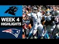 Panthers vs. Patriots | NFL Week 4 Game Highlights MP3