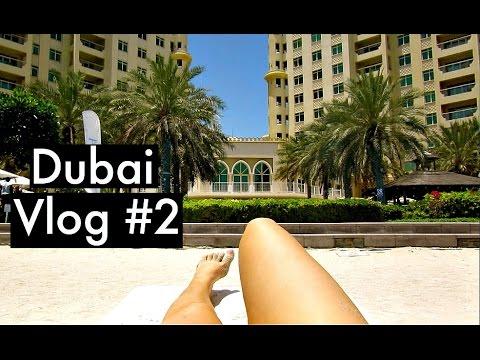 Daily Vlog: Riva Beach Club & Dubai Mall Fountain Show | KatesBeautyStation