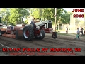 BJ EISENGA PULLS IN FIELD FARM TRACTOR CLASS, MTTP PULLS AT MARION, MI