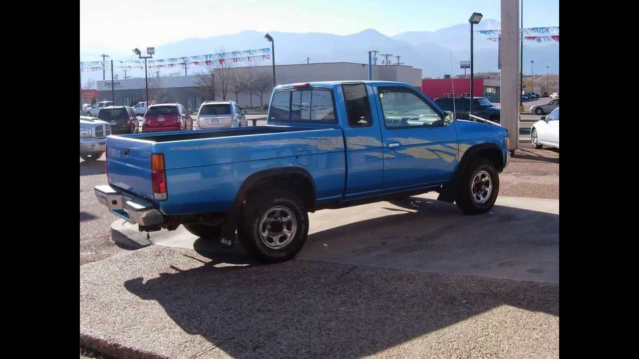 13076b 1995 Nissan Frontier Se 4x4 For Sale Youtube