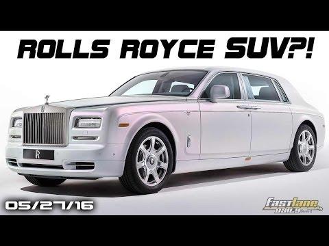 Rolls Royce SUV,  New Bentley Convertible, Yukon Premium Edition, Toyota Hybrids - Fast Lane Daily