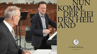 J.S. Bach - Workshop on cantata BWV 61 - Nun komm, der Heiden Heiland (J. S. Bach Foundation)