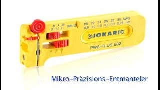 Jokari - Mikro Entmanteler PWS-Plus / Micro-Precisions Wire Strippers PWS-PLUS