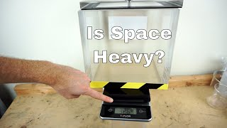 Does a Vacuum Chamber Weigh Less Under Vacuum?—Mind Blown!