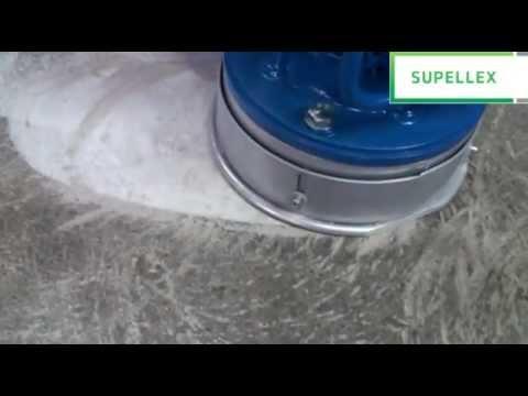 Bruska na betonové podlahy
