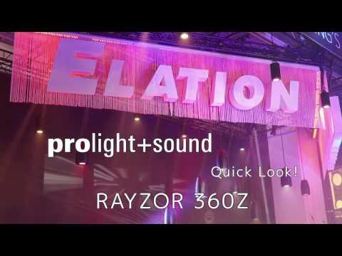 Elation Professional - Quick Look! Rayzor 360Z