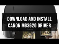 How to download and install driver Canon MG3620 mp3 indir