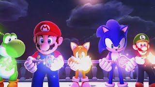 Mario and Sonic at the Sochi 2014 Olympic Winter Games - Legends Showdown Ending (Wii U)