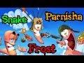 Король Леонид! Frost VS Parnisha VS Snake (Worms) №4