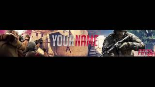 CS:GO Banner - Banner Template -By PhysX