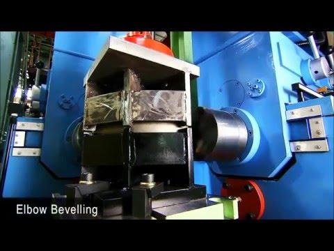 Komple Paslanmaz Dirsek Tee Fittings Üretim Hattı