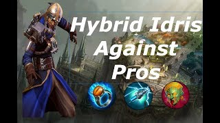 Broken Hybrid Idris Against Pros - Vainglory 5v5