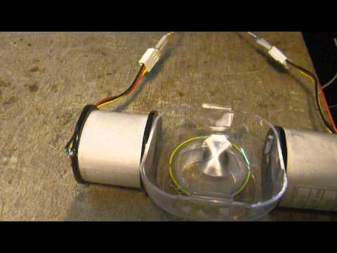 Раскрутка неодимового магнита - вариант мотора Бедини