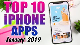 TOP 10 iPhone Apps - January 2019