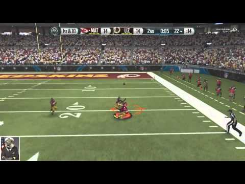Madden 16 Ultimate Team-Jaw Dropping 1 Handed Diving Catch!-XBOX ONE Madden 16 Ultimate Team S2 W3