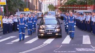 "Funeral service for NSW Paramedic ""Mick Wilson"" concluded with over a thousand attendees PT1"