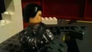 Man of steel final fight lego stopmotion superman vs genera